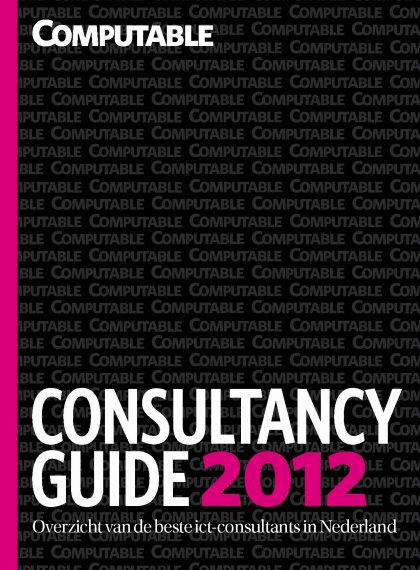 Computable ICT Consultancy Guide – 2012
