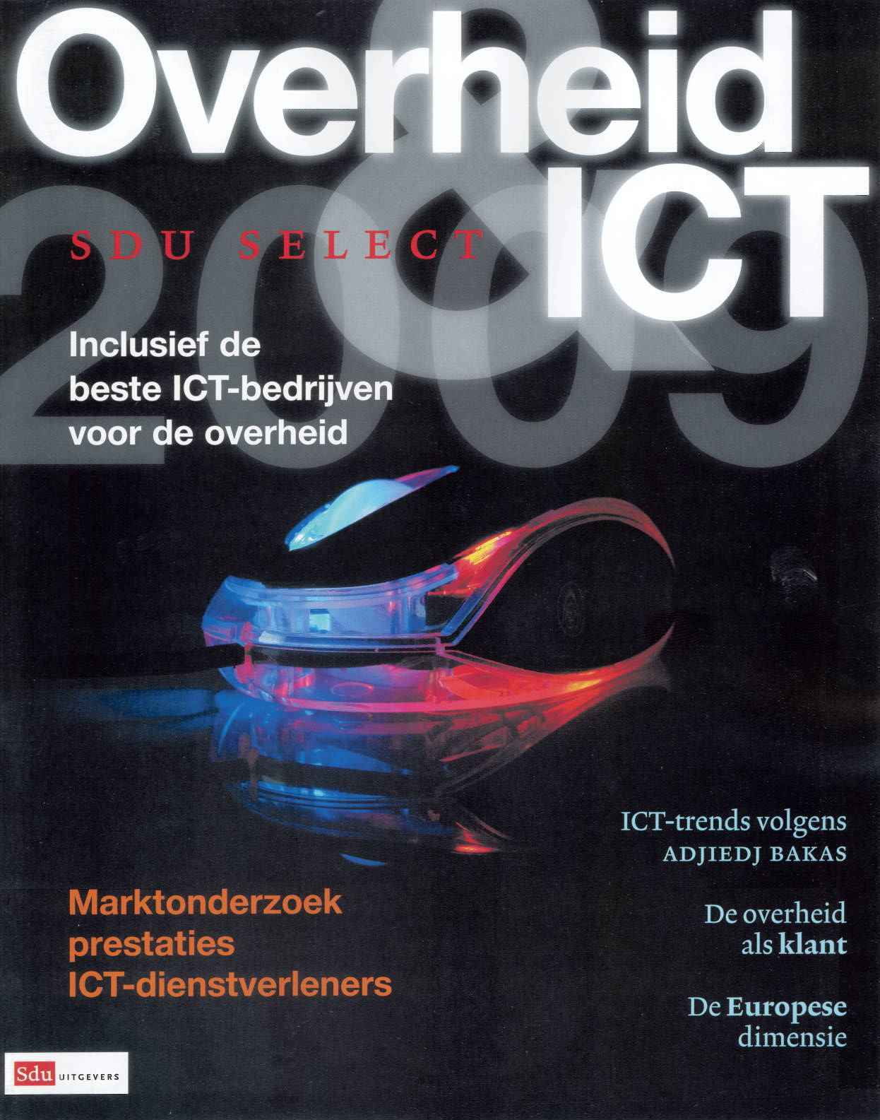 SDU Select Overheid en ICT - 2009